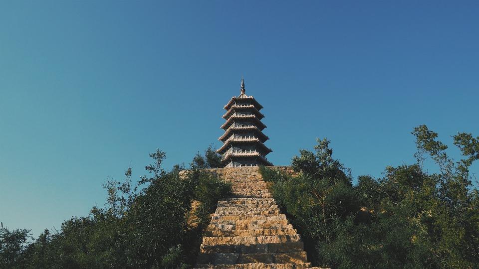temple, building, landmark