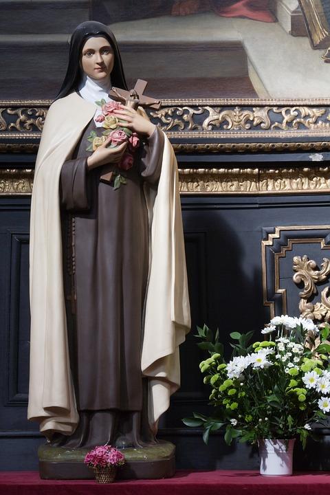 santa, terezinha, catholic