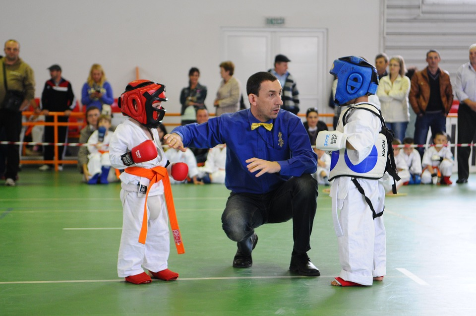 karate, kids, explication