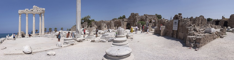 antiquity, temple, ruin