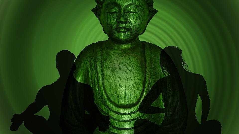 yoga, buddha, wave