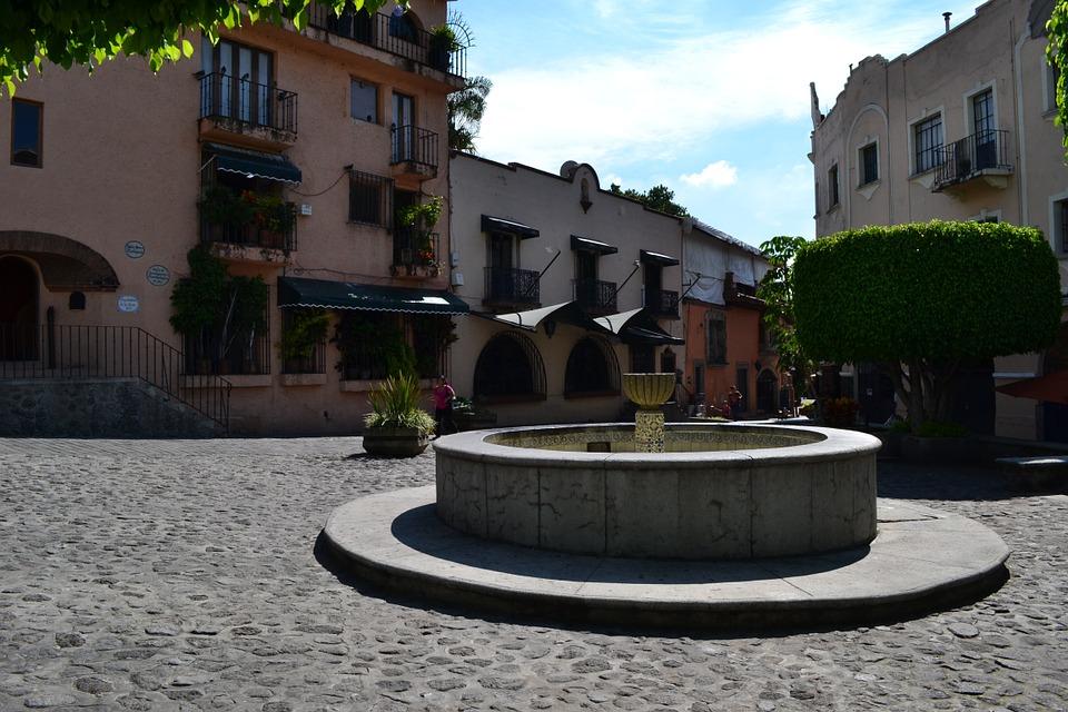 source, colonial, cuernavaca