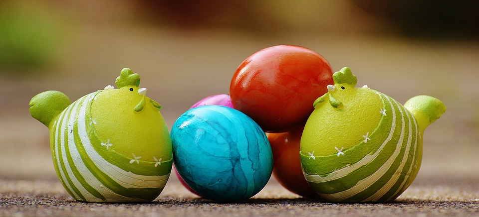 easter, egg, colorful