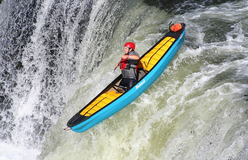 kayaking, extreme, kayak