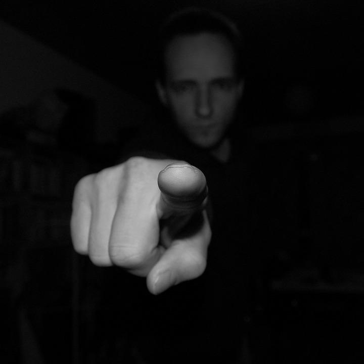 index, finger, pointing