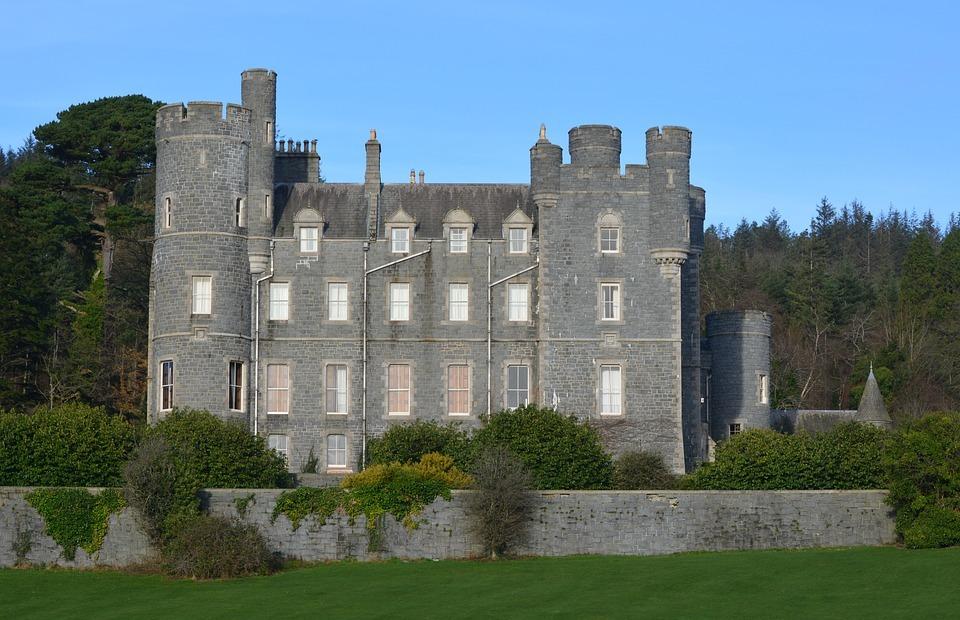castle, northern ireland, tourist attraction