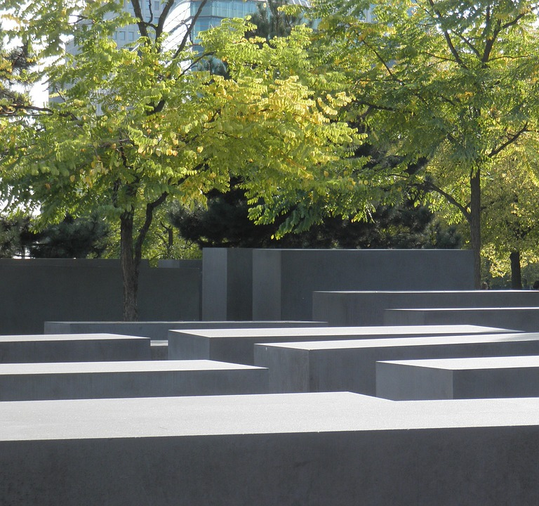 holocaust memorial, berlin, commemorative monument