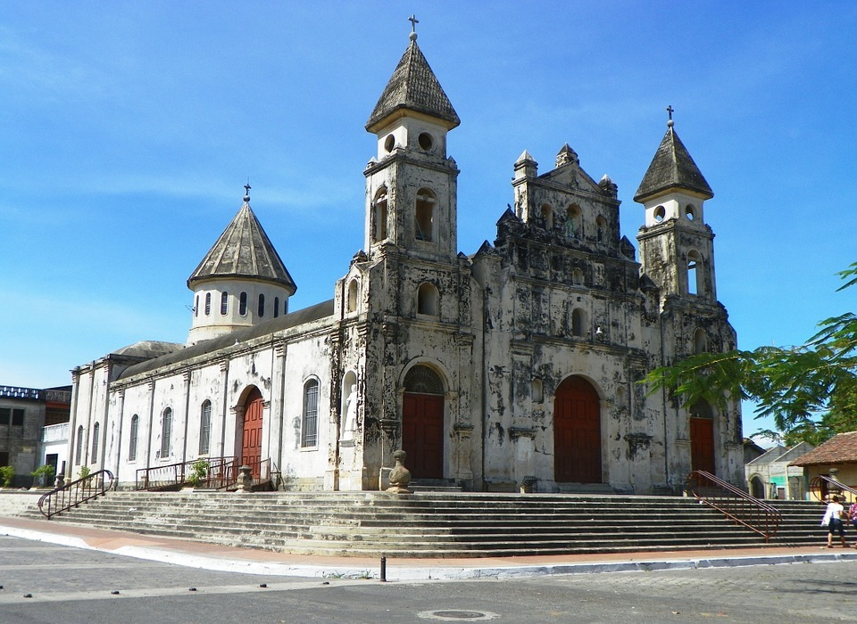 church, nicaragua, colonial