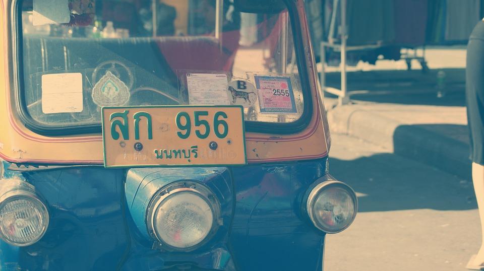tuk tuk, thailand, taxi