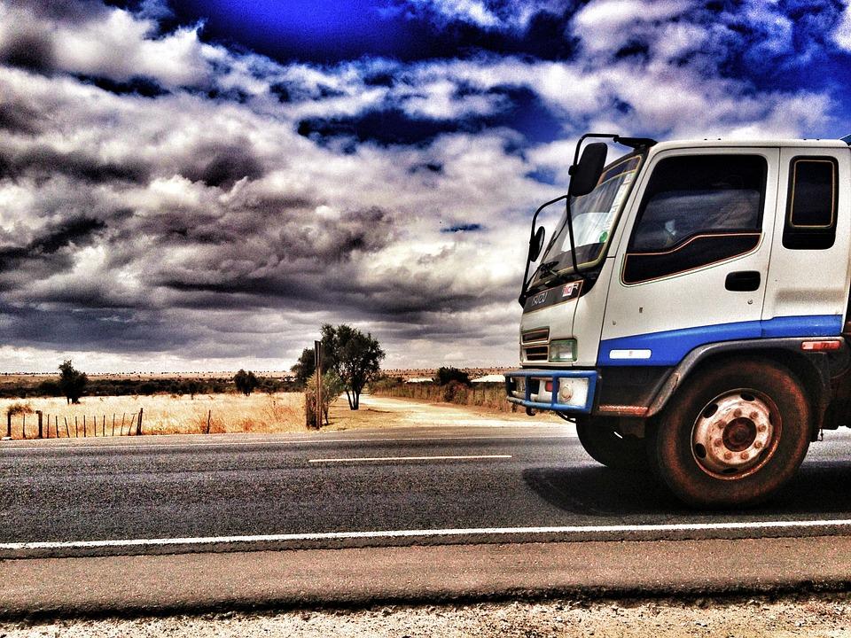 truck, travel, lorry