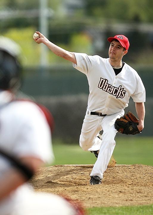 baseball, pitcher, pitcher\'s mound