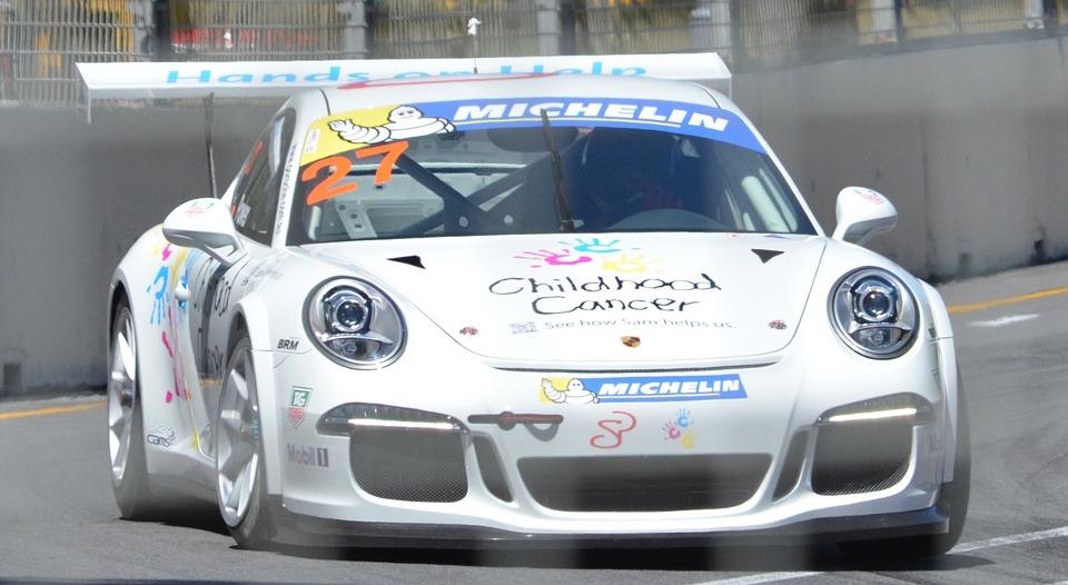 porsche, racing car, motorsports