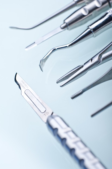 dentist, dental tools, scalpel