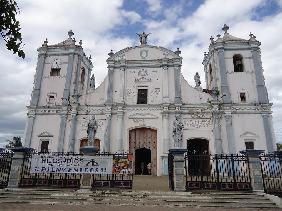 church, rivas, nicaragua