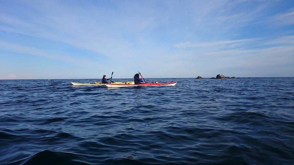 kayak, paddle, archipelago