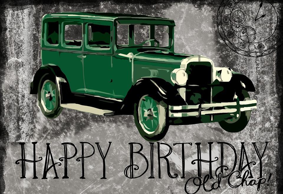 happy birthday, card, greeting