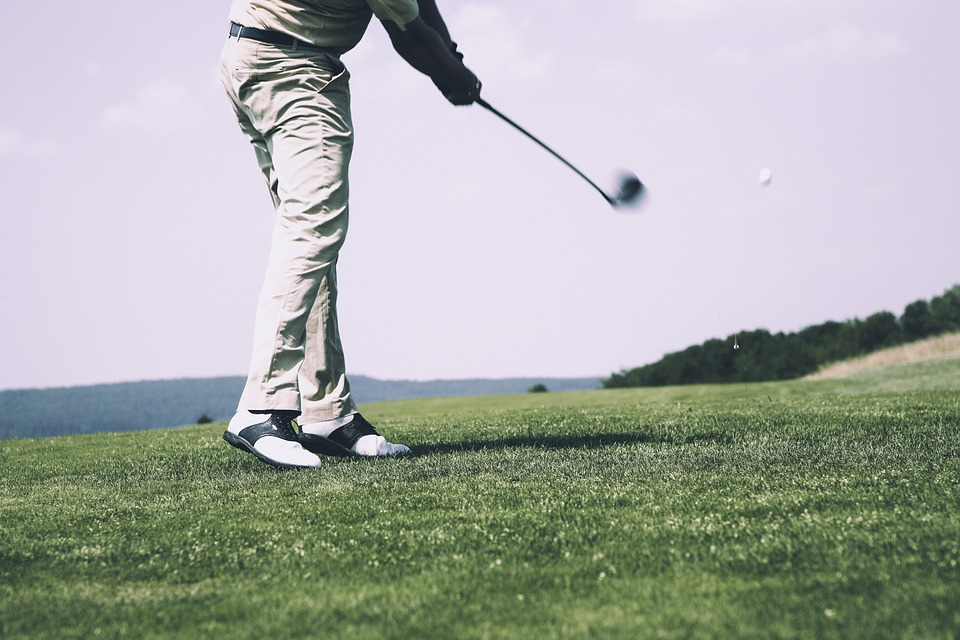 golf, tee, golf course