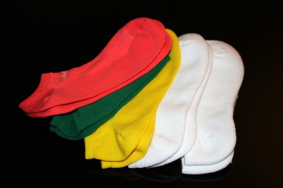 socks, athletic, sport