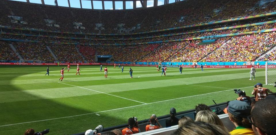 football, stadium, field