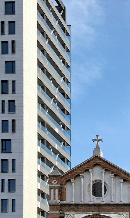 saint joseph, catholic cathedral, tower building