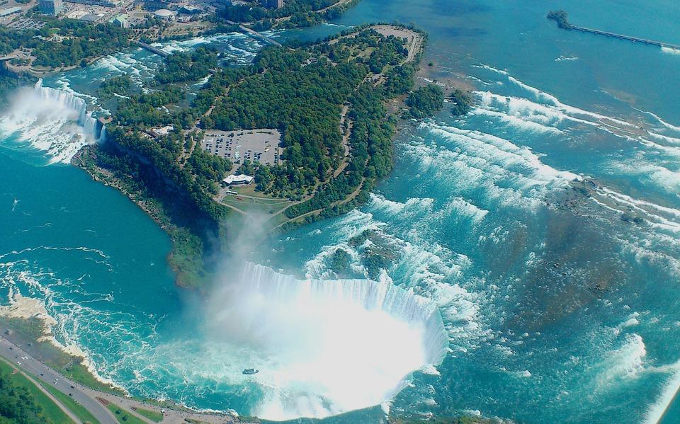 niagara falls, canada, waterfall