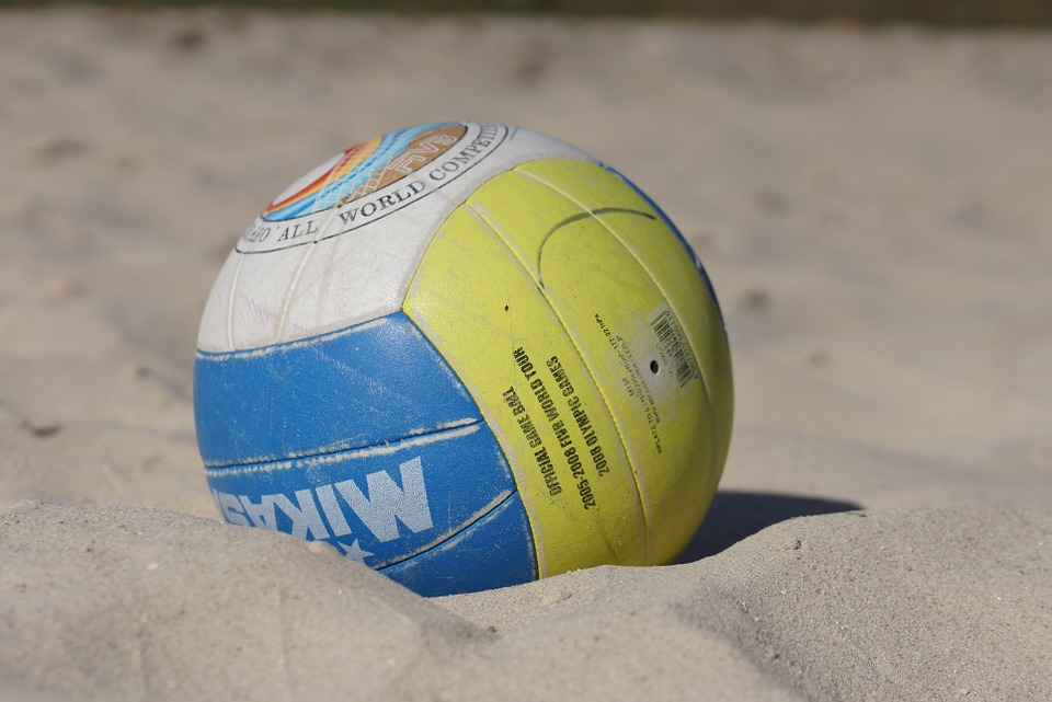 ball, beach, volleyball