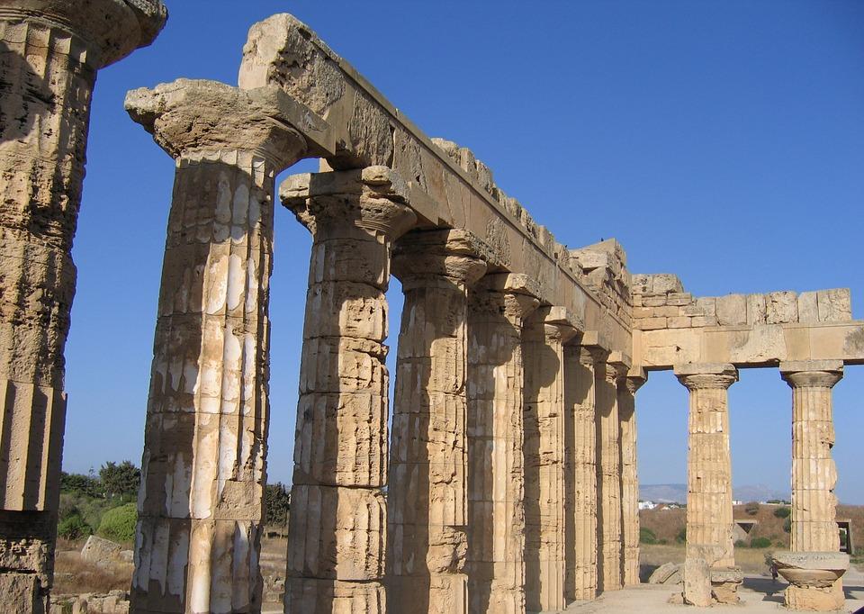 selinunte, temple, monument