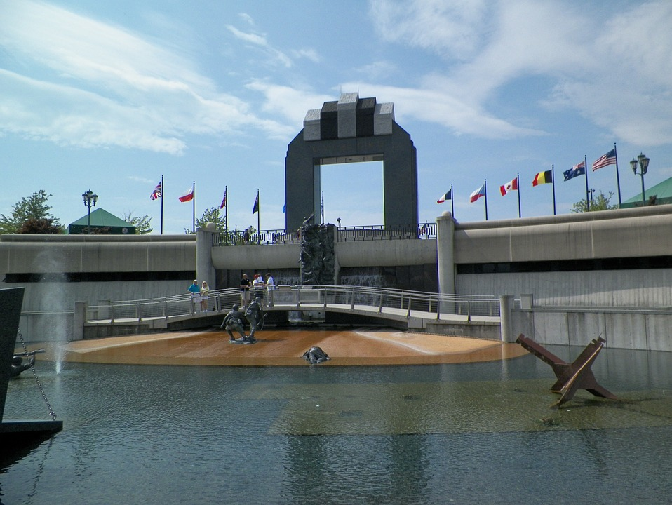 d-day memorial, world war ii, wwii