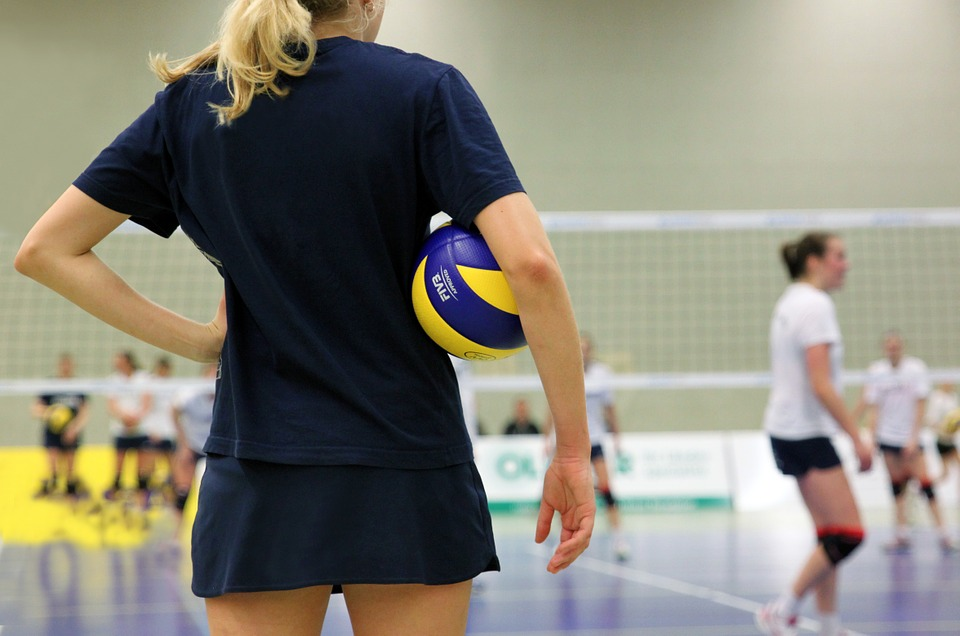 volleyball, sport, ball