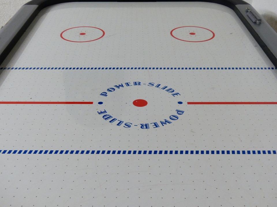 air hockey, play, leisure pass