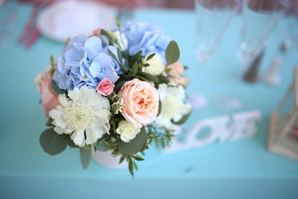 wedding, decor, flowers