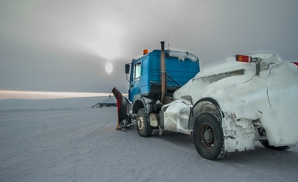 norway, northern cape, snow thrower
