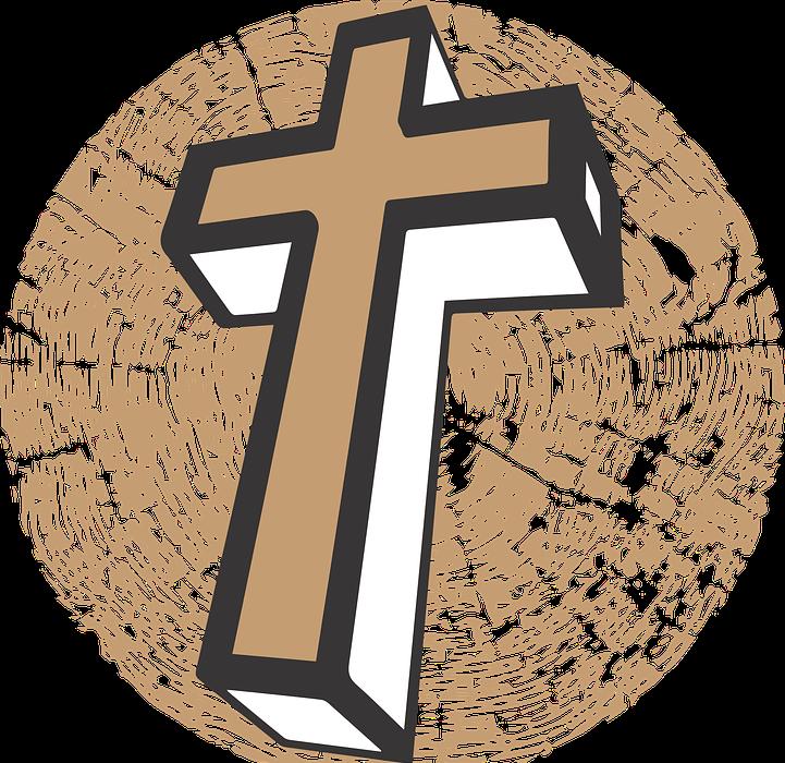 cross, religion, wood