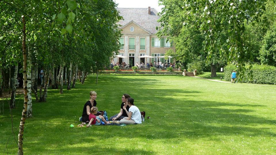 picnic, family, berlin