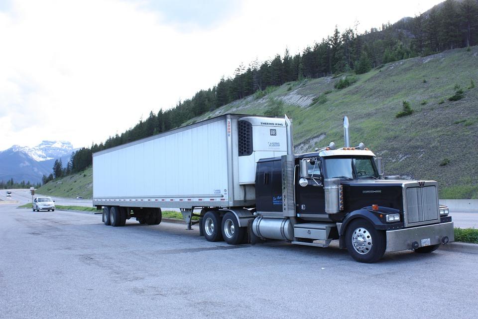 canada, truck, road