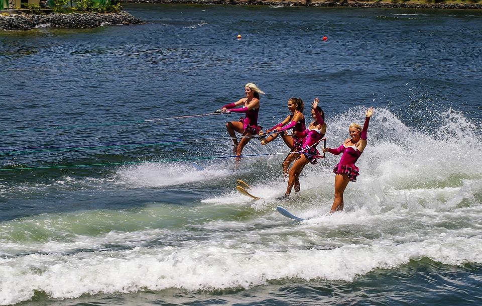 water-skiing, entertainment, sport