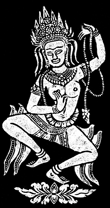 temple, dancer, deity