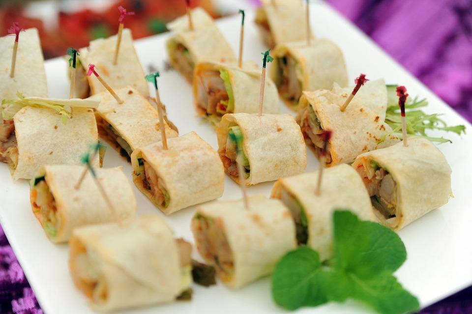 gourmet, buffet, outdoor picnic