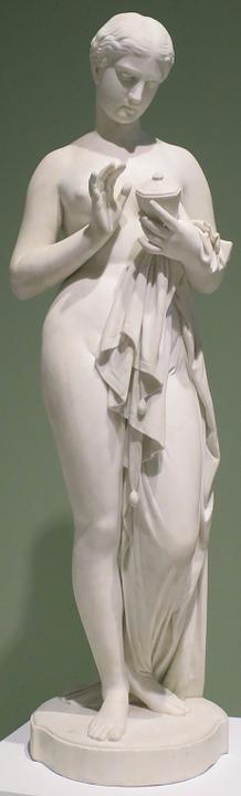 sculpture, pandora, chauncey