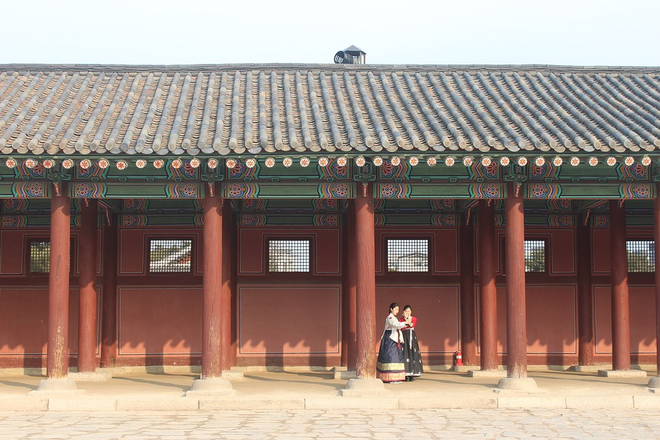 korea, chinese clothing, building
