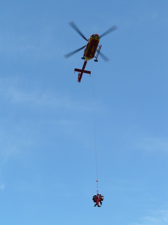 helicopter, rescue helicopter, air rescue