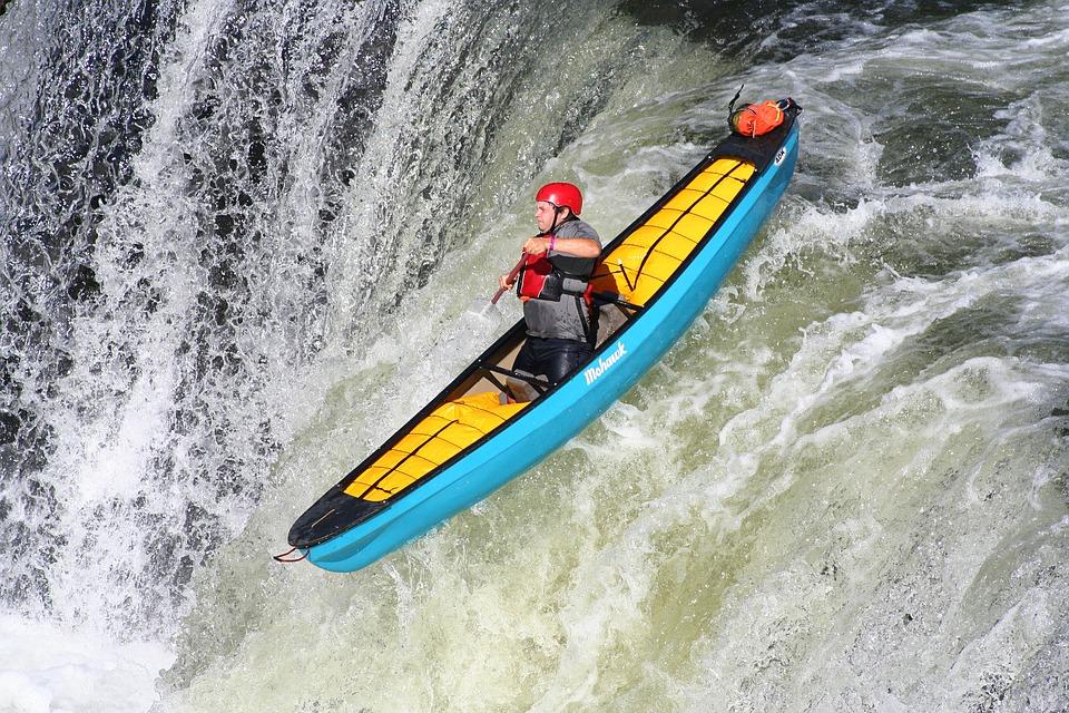 kayaking, extreme, kayak