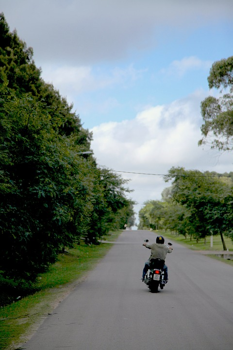 freedom, motorcycle, sky
