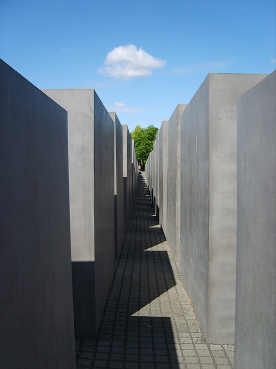 holocaust memorial, berlin memorial, stones