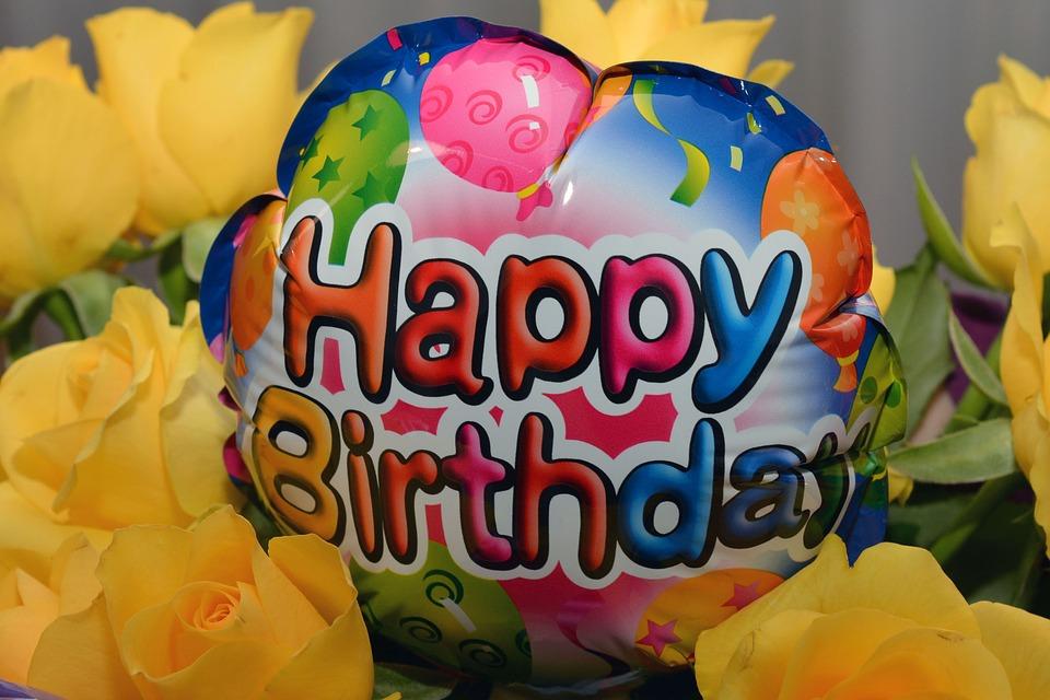 happy birthday, balloon, birthday