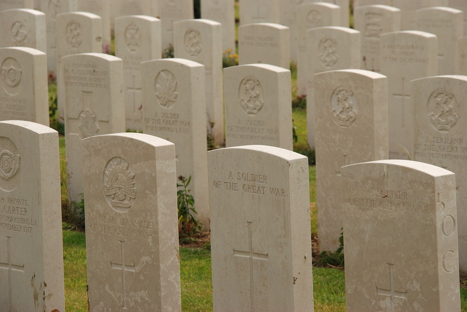belgium, tyne cot, first world war