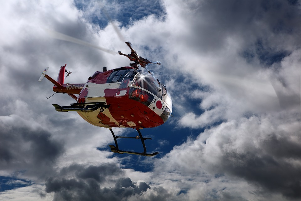 rescue helicopter, doctor on call, air rescue