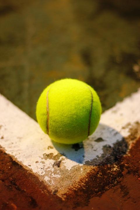 tennis, ball, sport