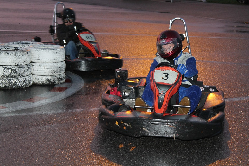 go kart, karting, race