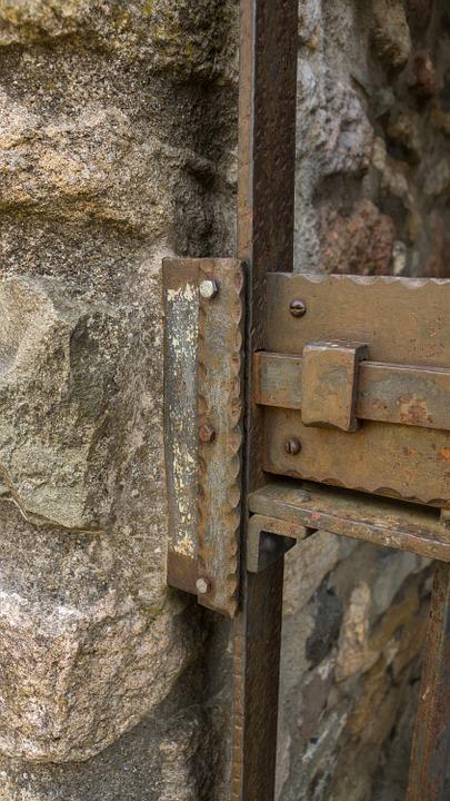 lock, bolt, shut